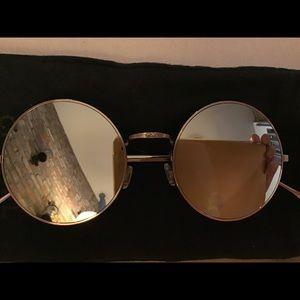 Illesteva Metallic Porto Cervo Mirror Sunglasses